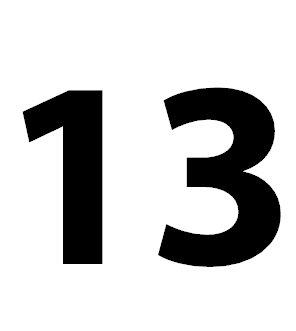 die zahl 13 bedeutung