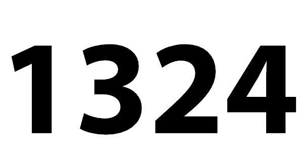 Welche Bedeutung hat die Zahl 1324 noch?