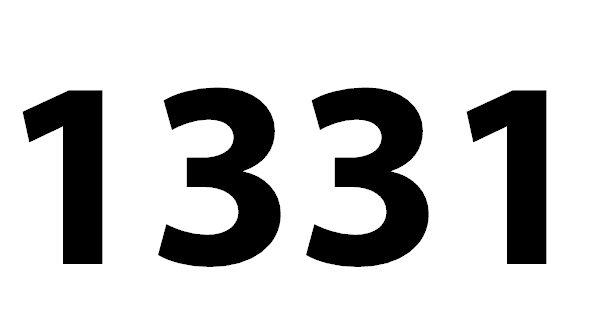 Welche Bedeutung hat die Zahl 1331 noch?