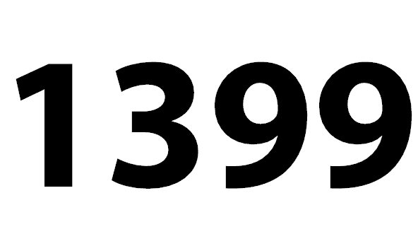 Welche Bedeutung Hat Die Zahl 1399 Noch