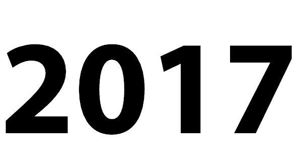 Zahl 2017  Zahlenparty
