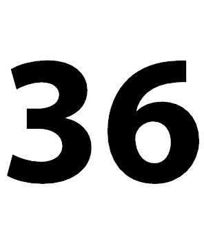 zahl 36