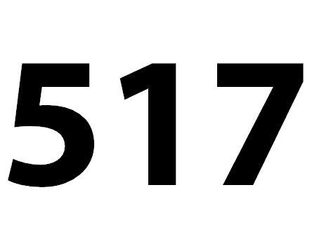 Welche Bedeutung hat die Zahl 517 noch?