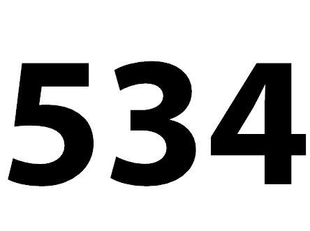 Welche Bedeutung Hat Die Zahl 534 Noch