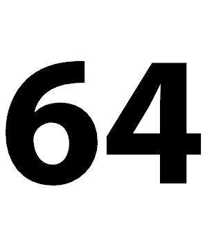 Zahl 64