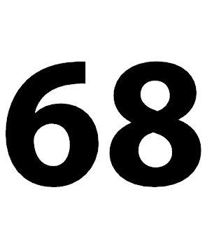 Zahl 68
