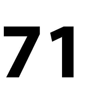 Zahl 71