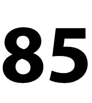 Zahl 85