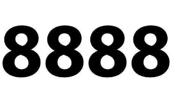 Welche Bedeutung hat die Zahl 8888 noch?